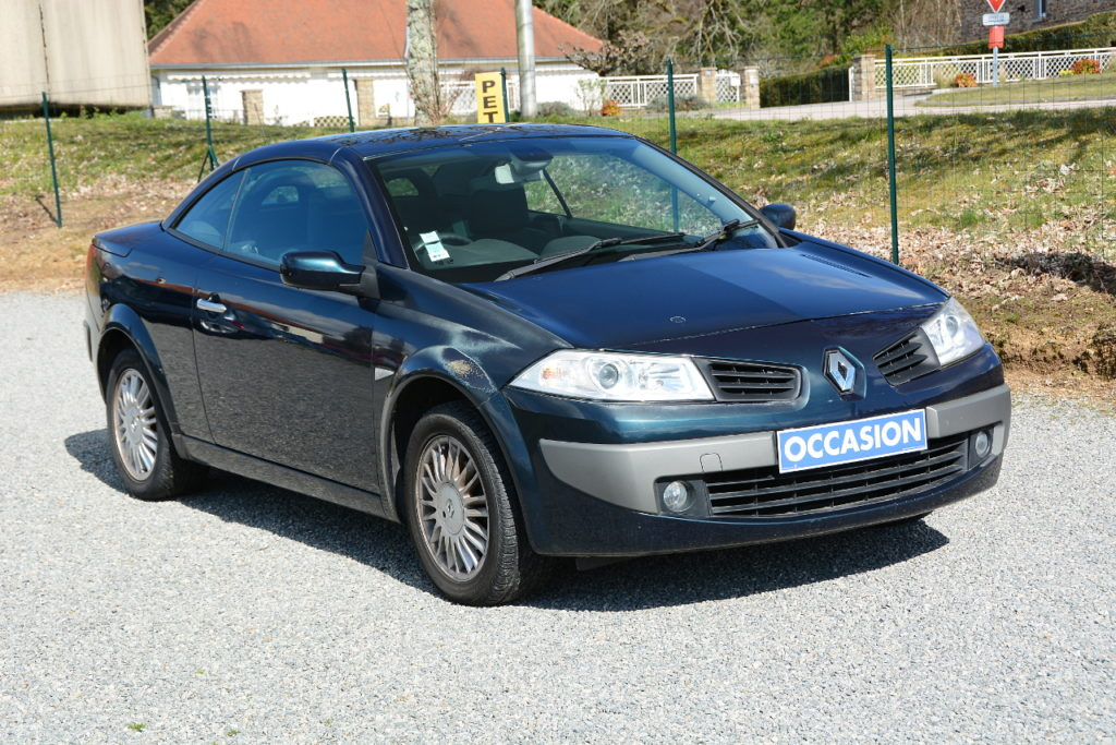 Renault Mégane II Coupé-Cabrio 1.6L 110cv / 3490€