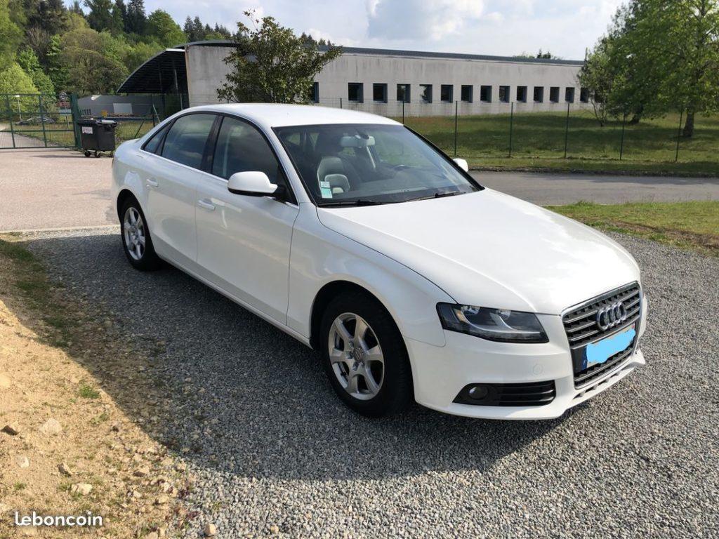 Audi A4 2.0L TDi 143ch / 10490€