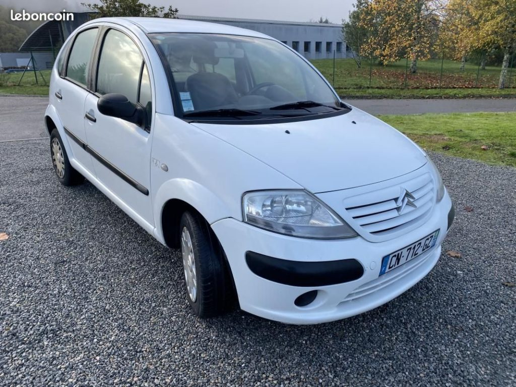 Citroën C3 1.4 HDi 68cv Commercial 2 places / 1990€