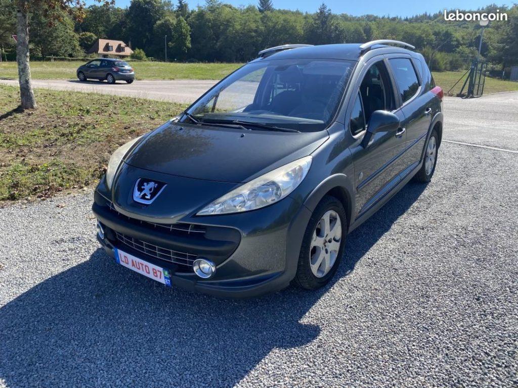 Peugeot 207 SW Outdoor 1.6L HDi 109cv / 3990€