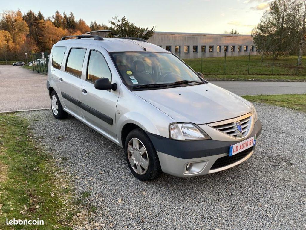 Dacia Logan MCV 7 PLACES 1.6 16V 105cv / 4490€
