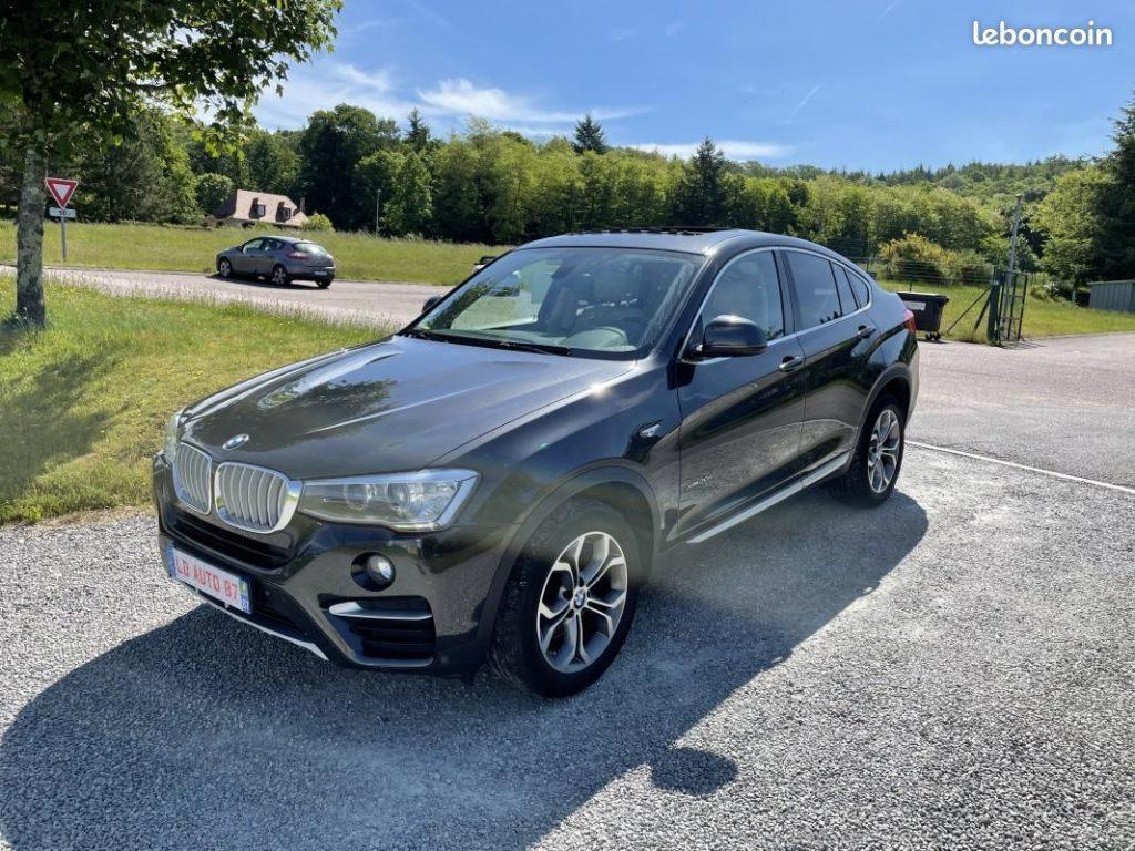 BMW X4 xDrive 30 d 258cv / 31500 €
