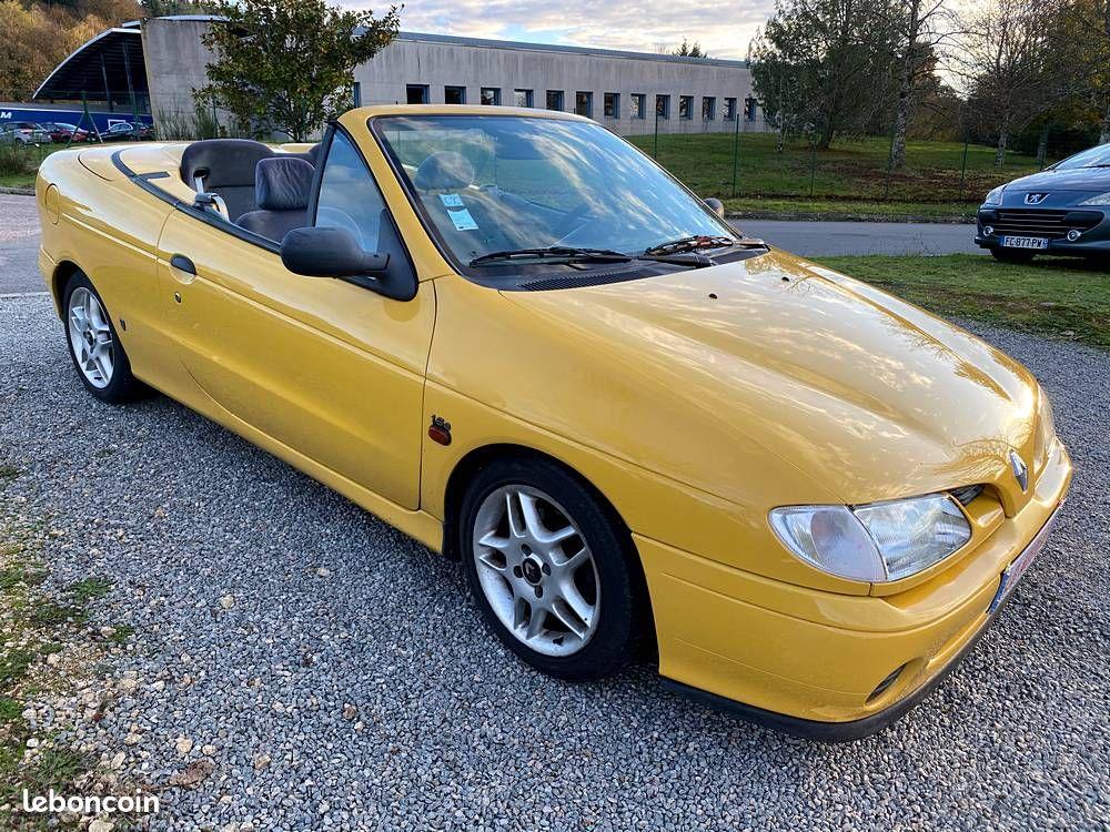 Renault Mégane I Cabriolet 1.6 e 90cv / 3490€